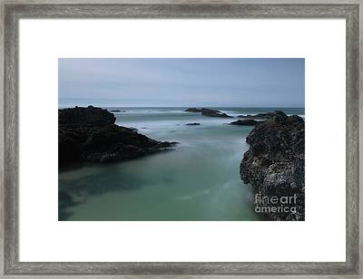 From The Top Of A Rock Framed Print
