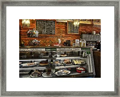 From Tobacco To Food Framed Print