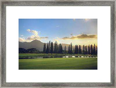 From Tonight Until The End Of Time Framed Print by Laurie Search