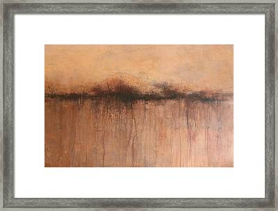 From Whence We Came Framed Print