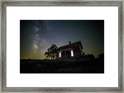From Within Framed Print by Aaron J Groen