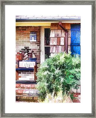 Front Door Framed Print by Lanjee Chee
