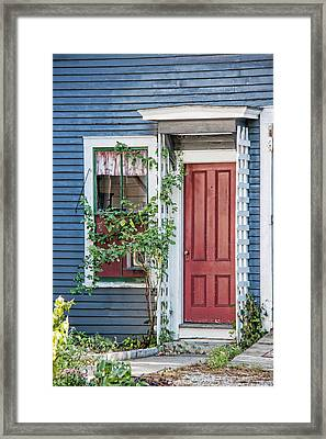 Front Door Three Framed Print by Suzanne Bauer Photography