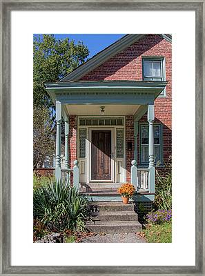 Front Door Two Framed Print by Suzanne Bauer Photography