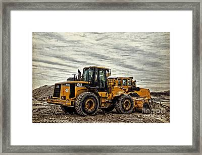 Front End Loader Framed Print by Tom Gari Gallery-Three-Photography