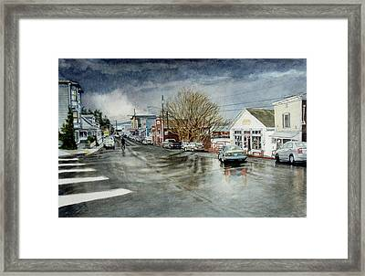 Front Framed Print by Perry Woodfin