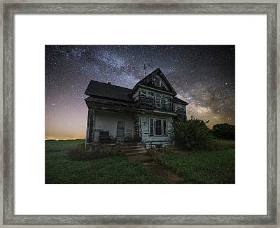 Front Porch  Framed Print by Aaron J Groen