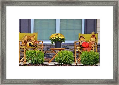 Front Porch Framed Print by Cynthia Guinn