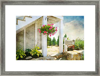 Front Porch Framed Print by Diana Angstadt