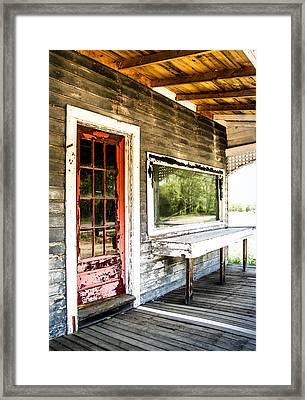 Front Porch Farm Framed Print by Sabrina Ramina