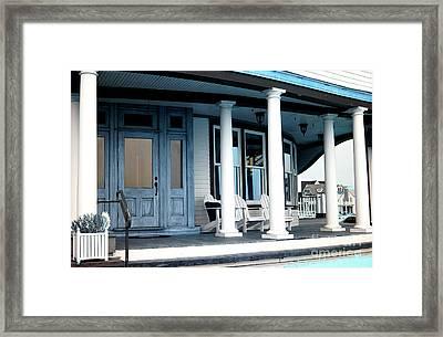Front Porch Infrared Framed Print