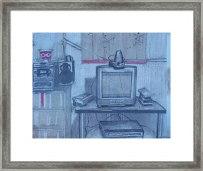 Front Room Framed Print