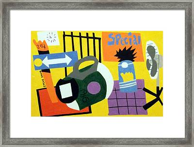 Front Room Framed Print by Stephen Davis