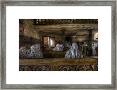 Front Row Framed Print by Nathan Wright