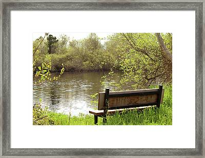 Framed Print featuring the photograph Front Row Seat by Art Block Collections
