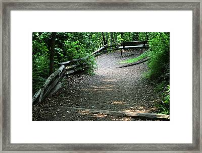Framed Print featuring the photograph Front Row Seat by Wanda Brandon