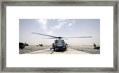 Front View Of An Hh-60 Pave Hawk Framed Print by Stocktrek Images