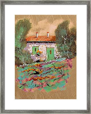 Frontale Framed Print by Guido Borelli