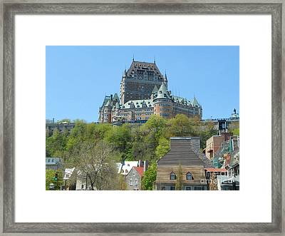 Frontenac Framed Print by Stella Sherman