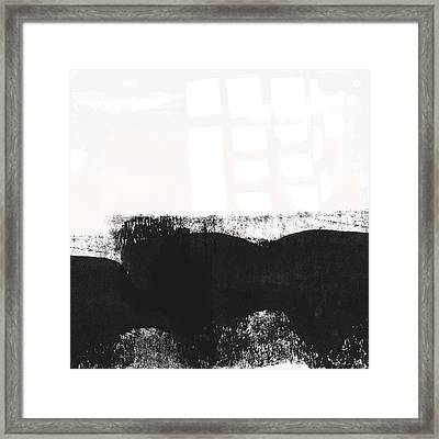 Frontier 24- Modern Abstract Art By Linda Woods Framed Print by Linda Woods