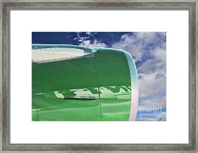 Frontier Flying High Framed Print