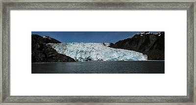 Frontier Glacier Framed Print