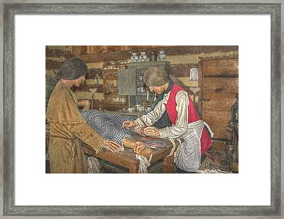 Frontier Surgery Framed Print by Randy Steele