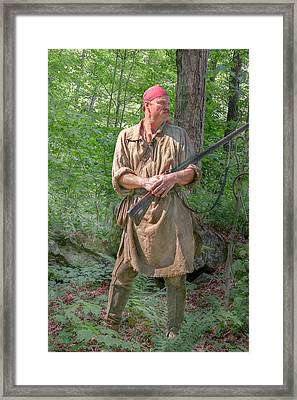 Frontiersman Scout    Framed Print by Randy Steele
