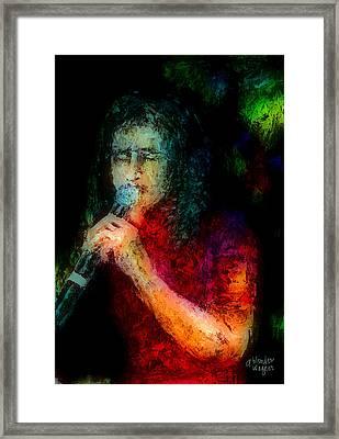 Frontman Framed Print by Arline Wagner