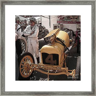 Fronty Ford 1915 Framed Print by Curt Johnson