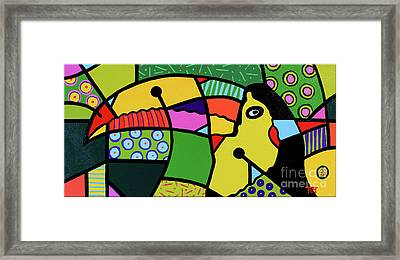 Froot Flavored Flyer Framed Print by Tim Ross