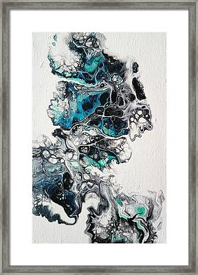 Frost And Ice Framed Print
