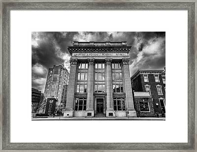 Frost Building - Lifeway Christian Resources Framed Print by Stephen Stookey