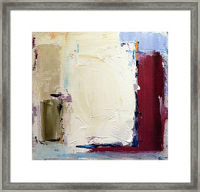 Frosted Bogs Framed Print by Jacquie Gouveia