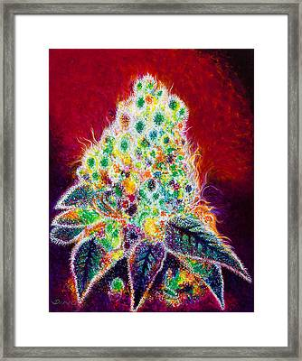 Frosted Fruity Pebbles Framed Print by Dino Murphy