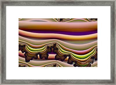 Frosting Framed Print by Ron Bissett