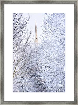 Frosty Morning Framed Print by Andrew  Michael