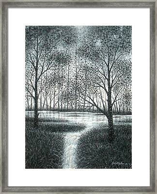 Frosty Morning Framed Print by Cristophers Dream Artistry