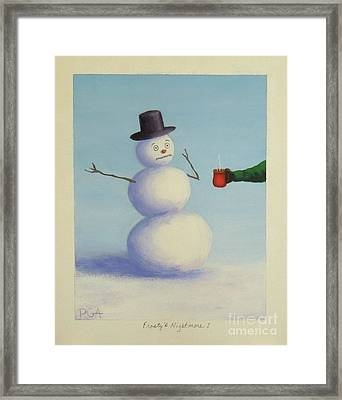 Frosty's Nightmare I Framed Print