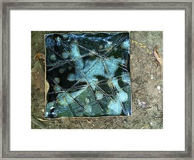 Frozen Framed Print by Emily Osborne