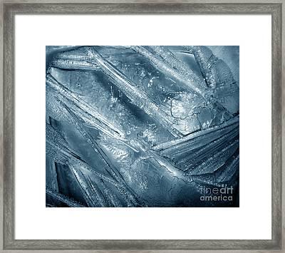 Frozen Eternity. Gothic Mood Framed Print