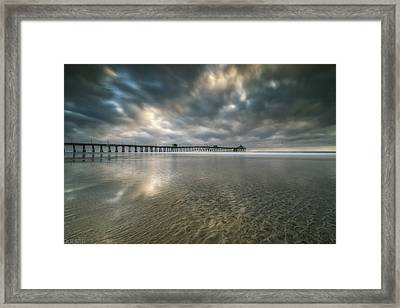 Frozen In Time Framed Print by Doug Barr