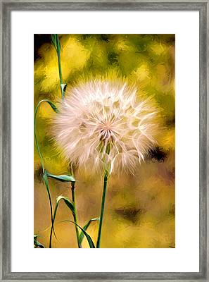 Framed Print featuring the digital art Frozen In Time by James Steele