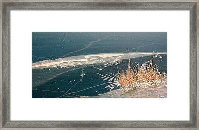 Frozen In Time Framed Print by Kenneth M  Kirsch