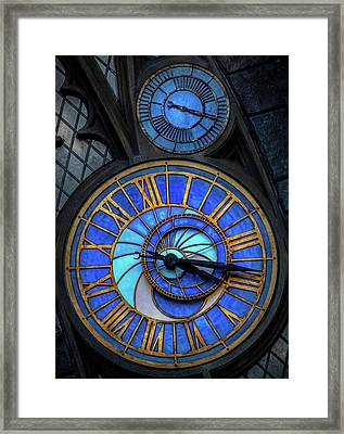 Frozen In Time  Framed Print by Luis Rosario