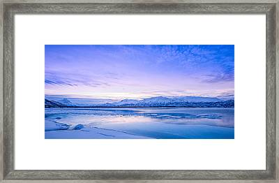 Frozen Kingdom Framed Print by Tor-Ivar Naess
