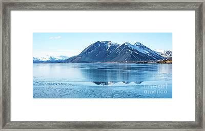 Frozen Lake Framed Print by Svetlana Sewell