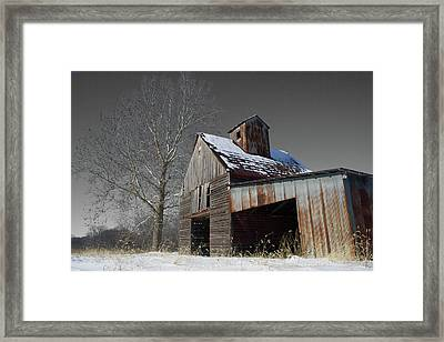 Frozen Letcher Framed Print by Dylan Punke