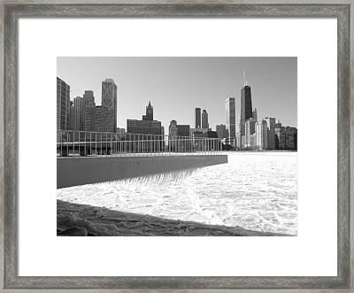 Frozen Over Framed Print by Jacob Stempky