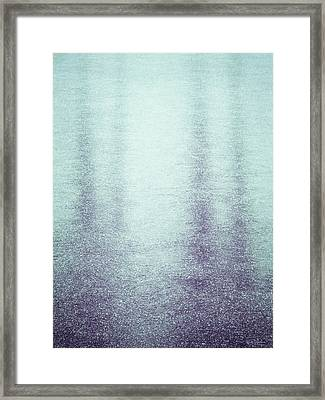 Frozen Reflections Framed Print